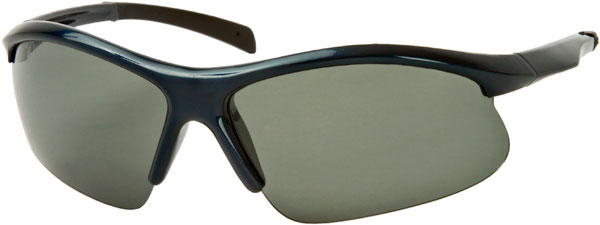 Runner #7677 Dark Blue/Black Frame Sunglasses
