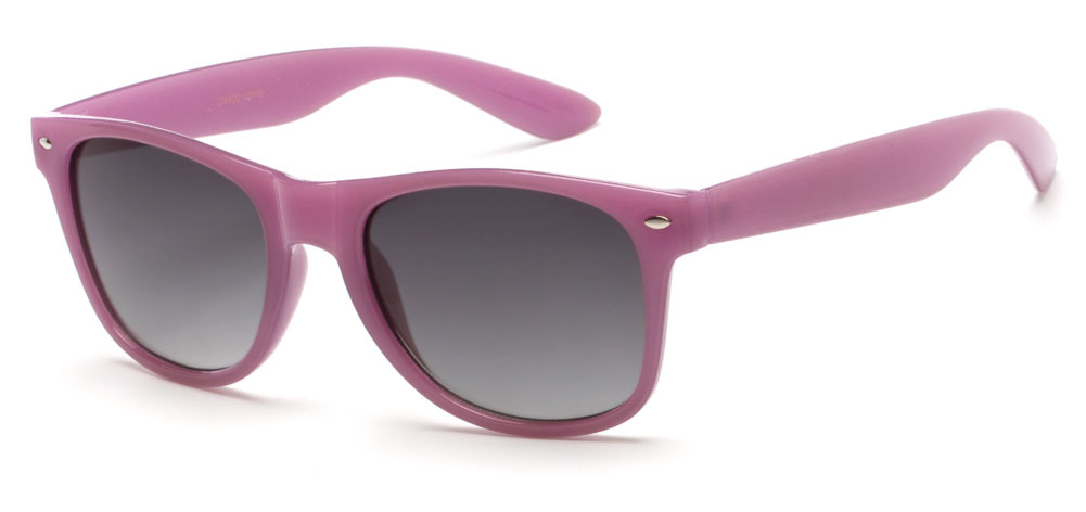 Gullfoss #1453 Light Purple Frame with Smoke Lenses Sunglasses