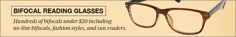 Bifocal Reading Glasses & Bifocal Readers