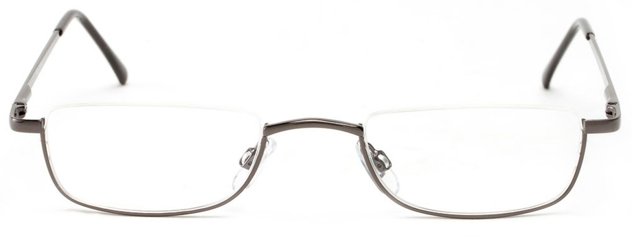 Bottom Rimless Glasses : Bottom Half Semi-Rimless Metal Reader Readers.com